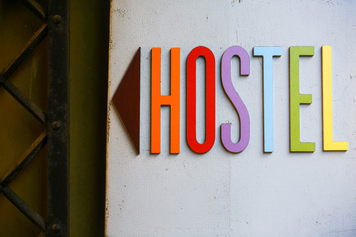 bright color pointer arrow overnight hostel europe shutterstock_269670899-2