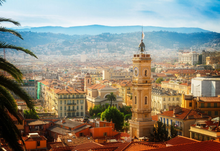 cityscape of Nice, France