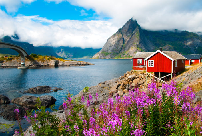 Lofoten Islands Norwegen shutterstock_209912014