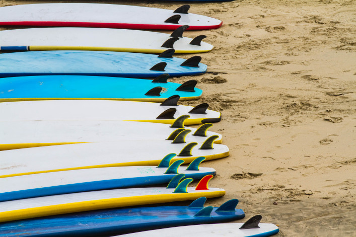 Foam Surfboards