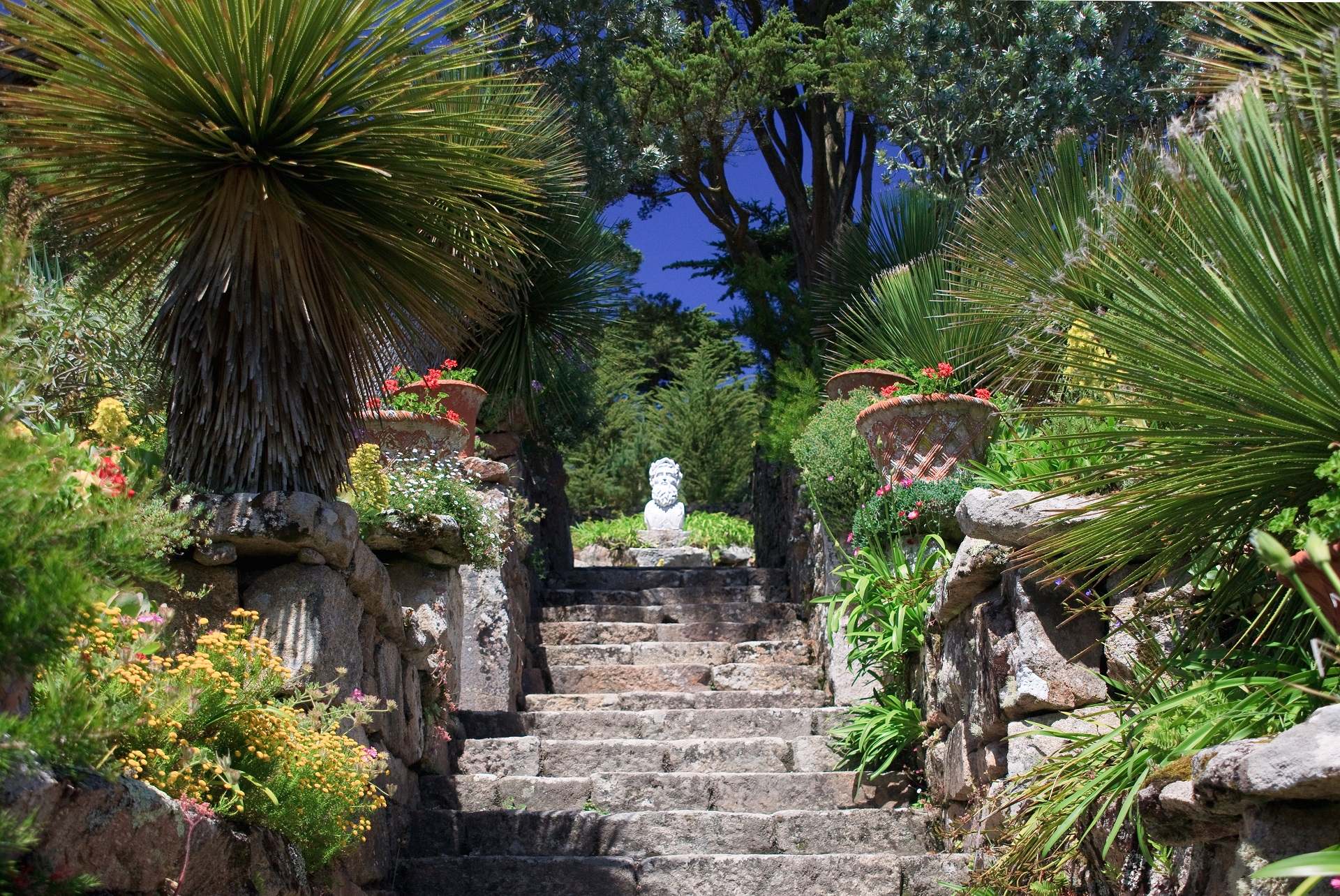Tresco Gardens auf den Scilly Islands