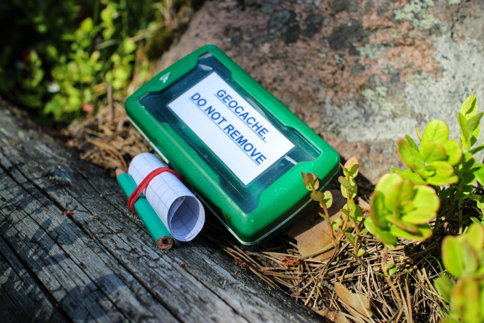 geocaching and geocache box shutterstock_285062432-2