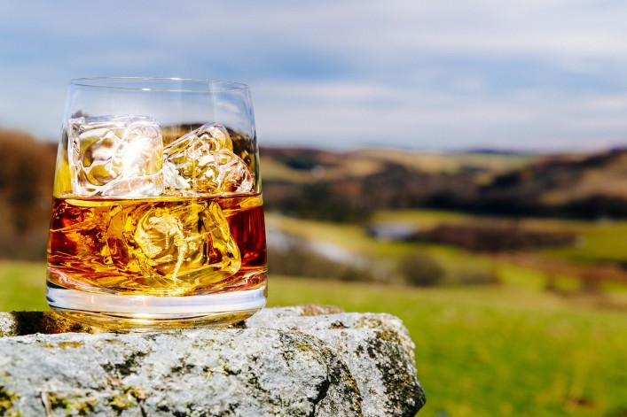 Scotland is Whisky country