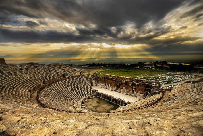 Ancient amphitheater Hierapolis