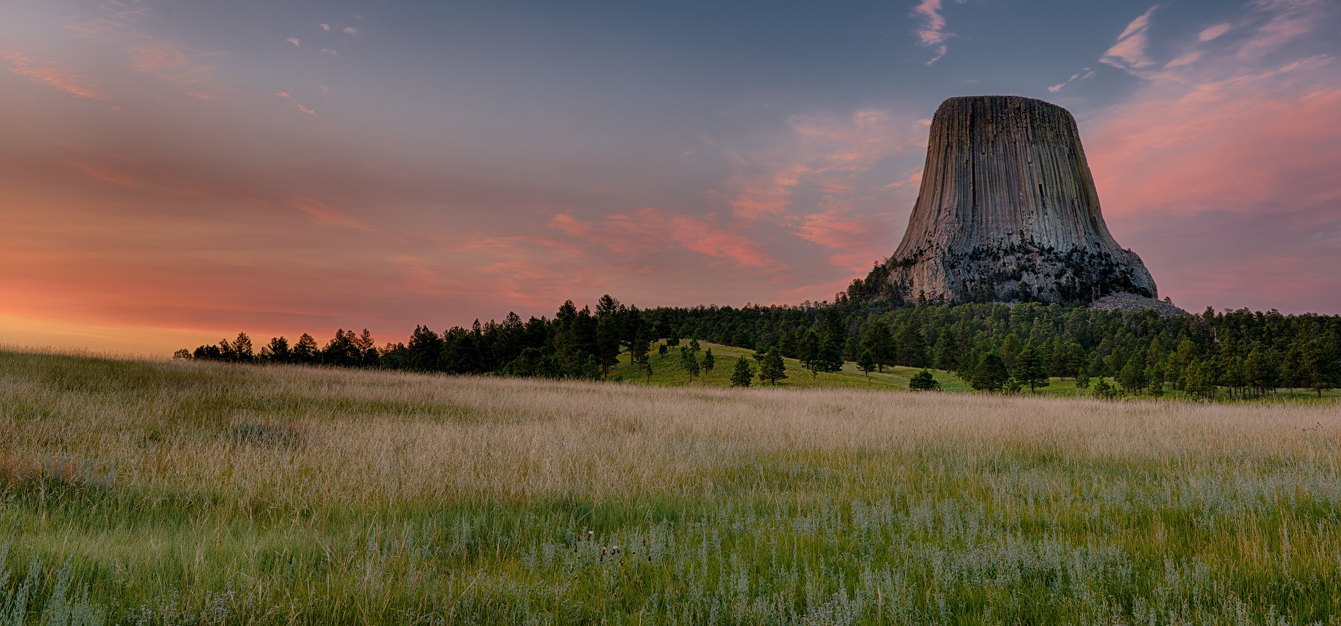 Mount Rushmore - Teufelsturm Devils Tower South Datoka