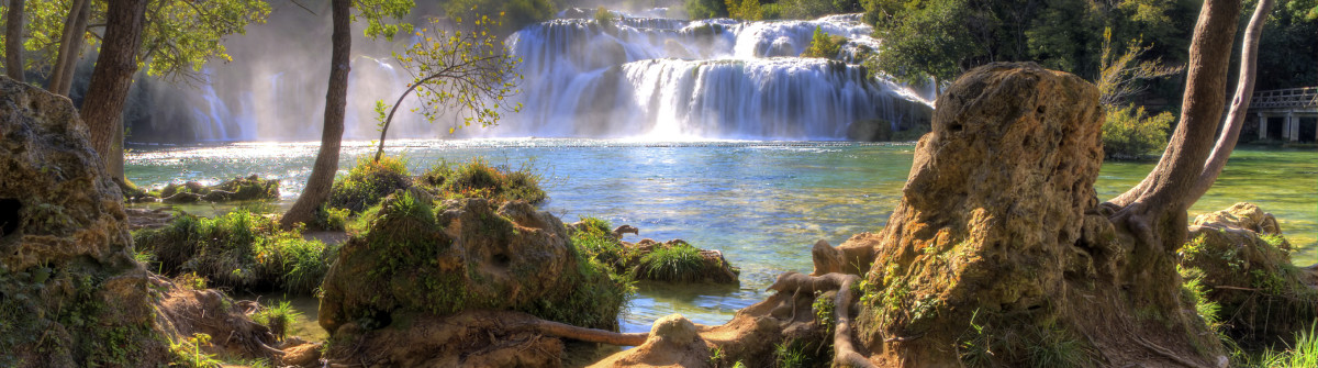 Nationalpark Krka Waterfall iStock_000025096329_Large