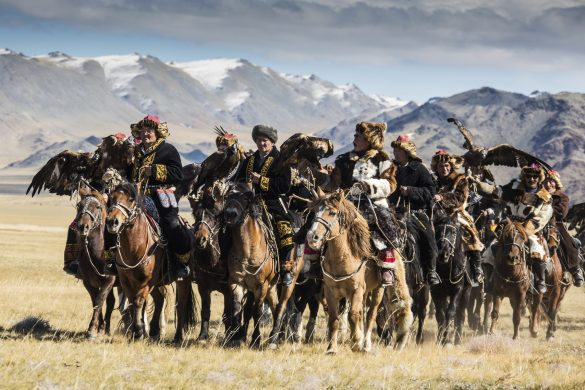 Golden Eagle Festival Mongolei
