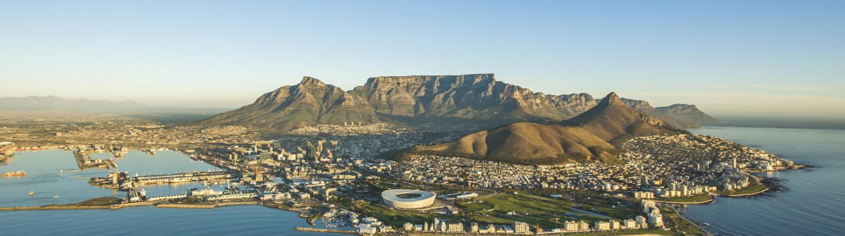 Aerial view of Capetown South Africa iStock_000075738091_Large