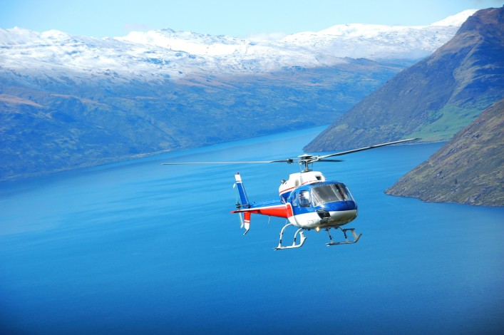 Sightseeing Helicopter in Queenstown shutterstock_150456953