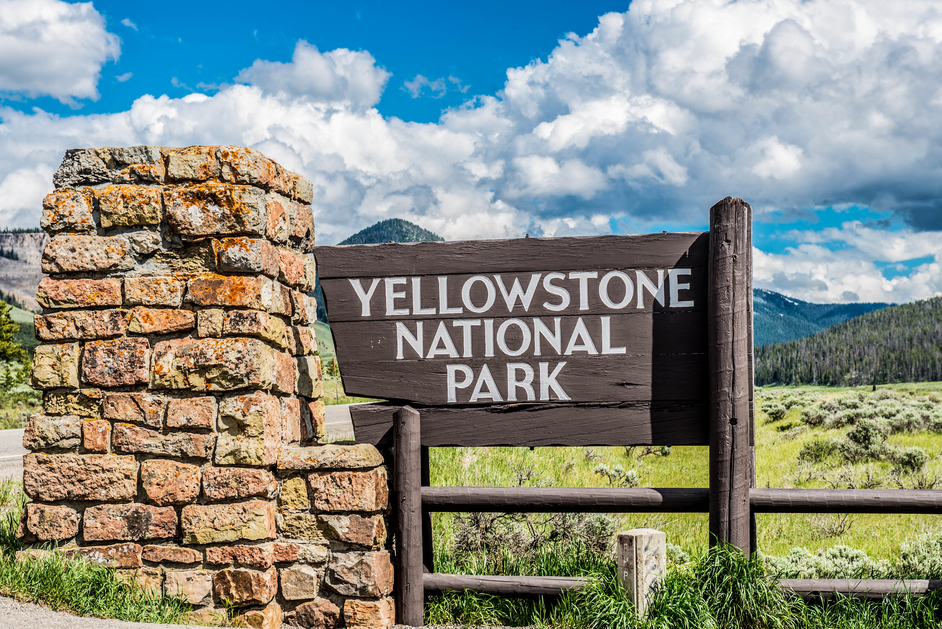 Yellowstone Nationalpark in den USA