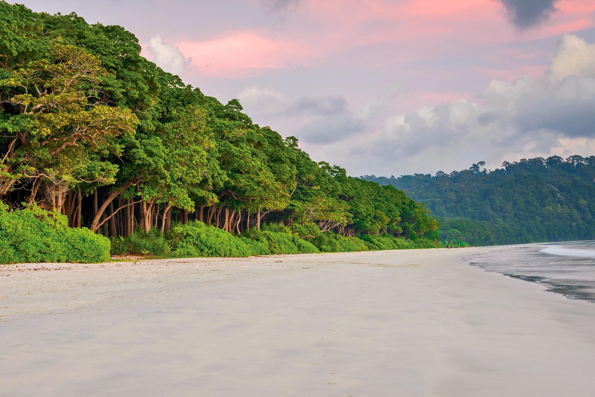 Radhanager Beach, Andamanen und Nikobaren