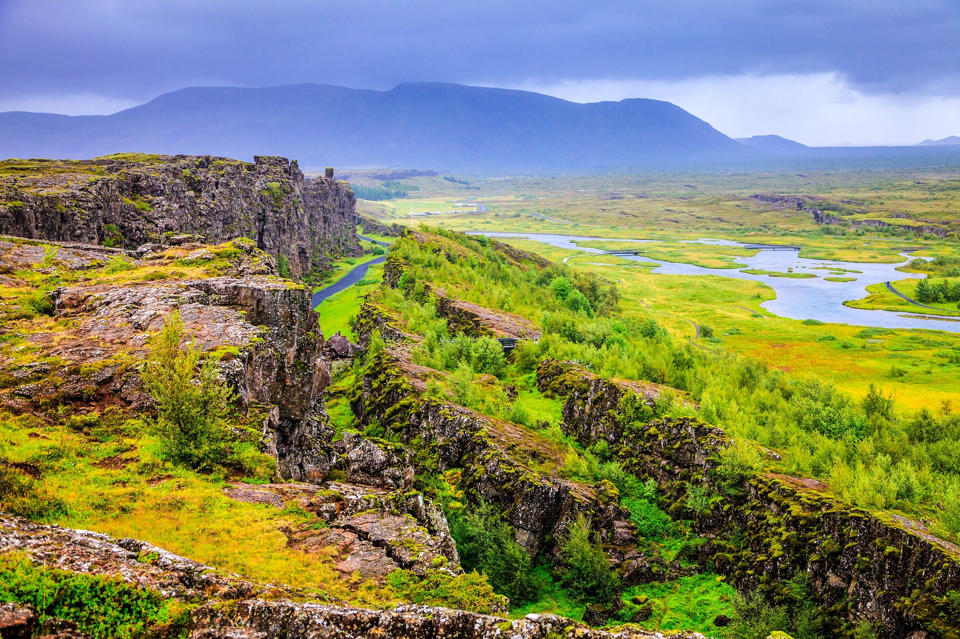 Þingvellir Nationalpark in Island