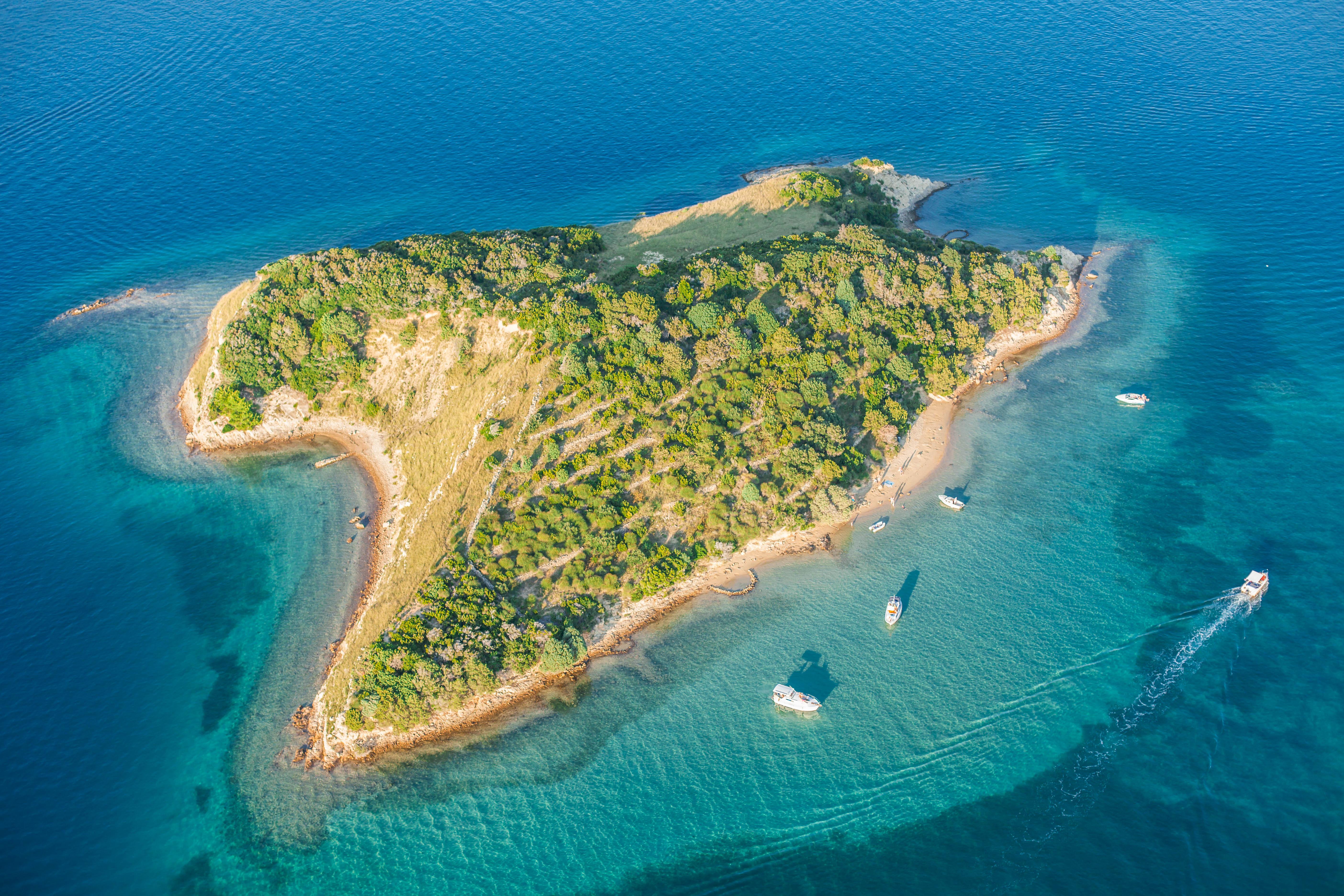 Rab Island, Kroatien