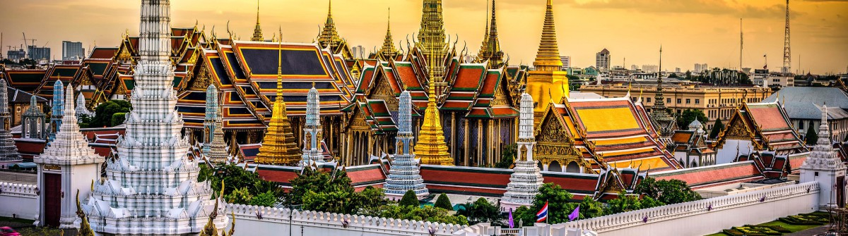 Grand Palace und Wat Phra Kaeo in Thailand