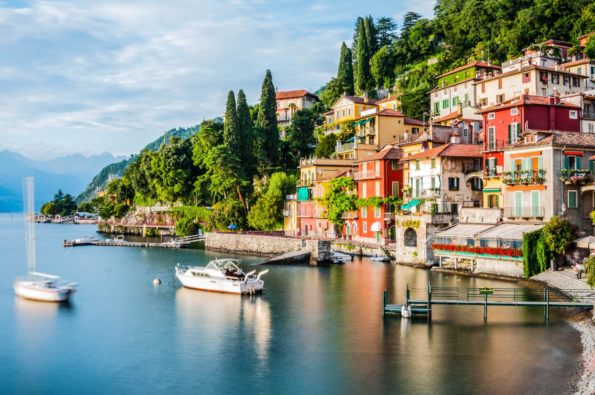 Varenna am Comer See in Italien