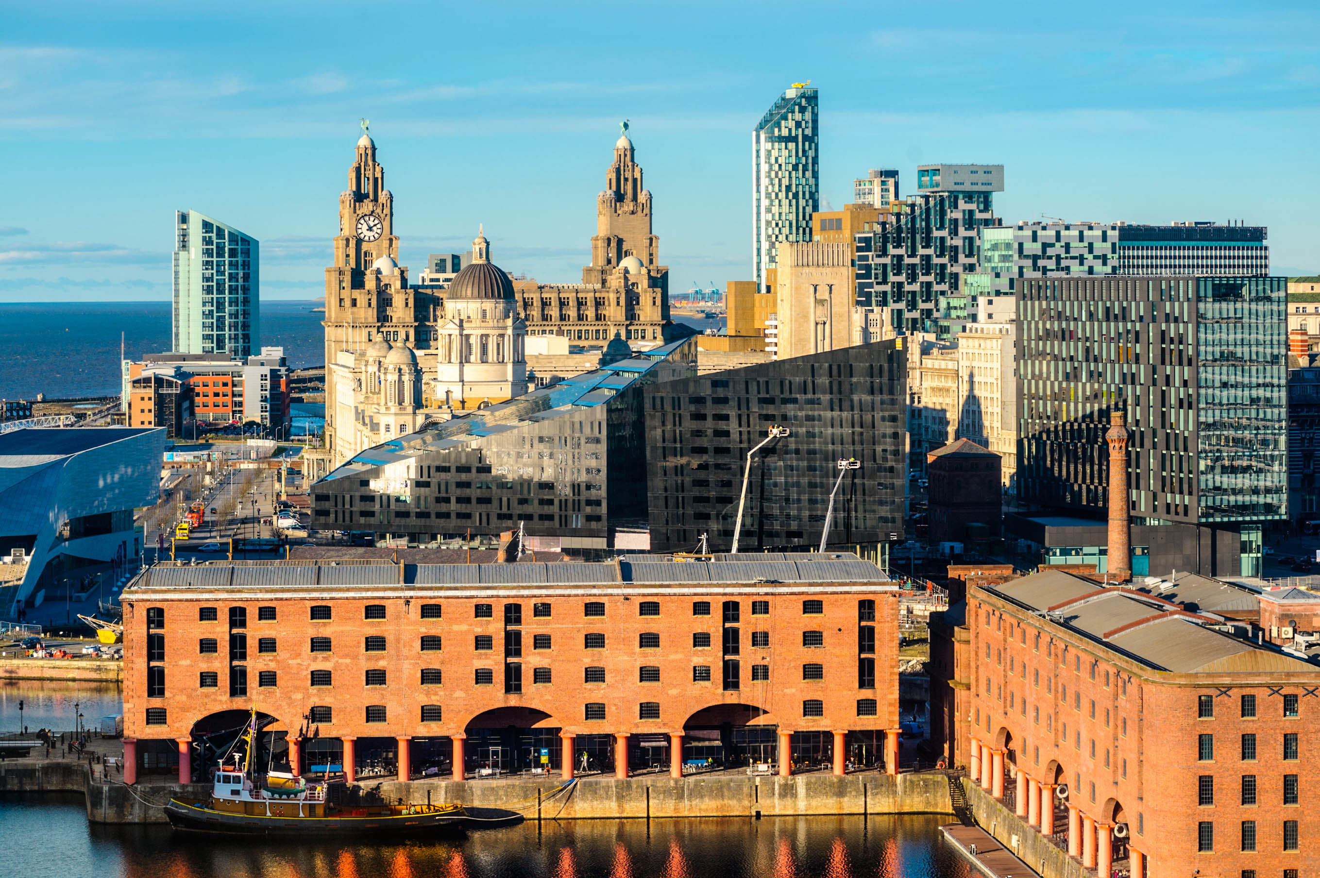 Liverpool Tipps Skyline, Albert Dock