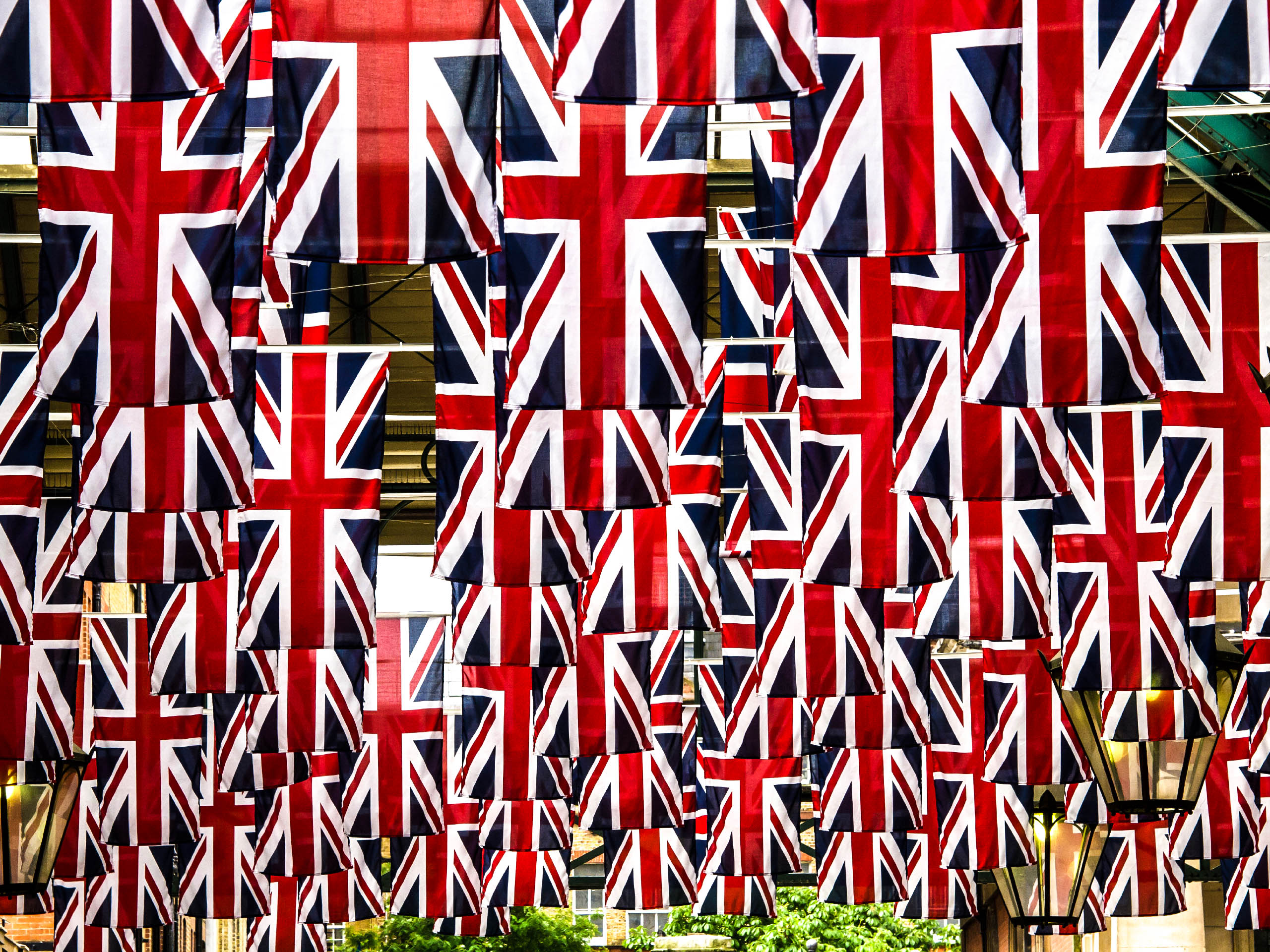 Trooping the Colour Union Jack