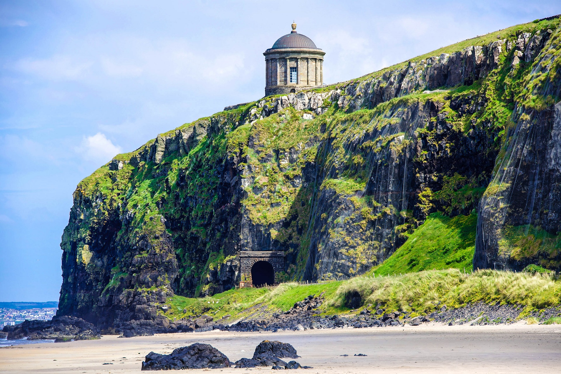 Nordirland Game of Thrones Drehorte Mussenden Tempel