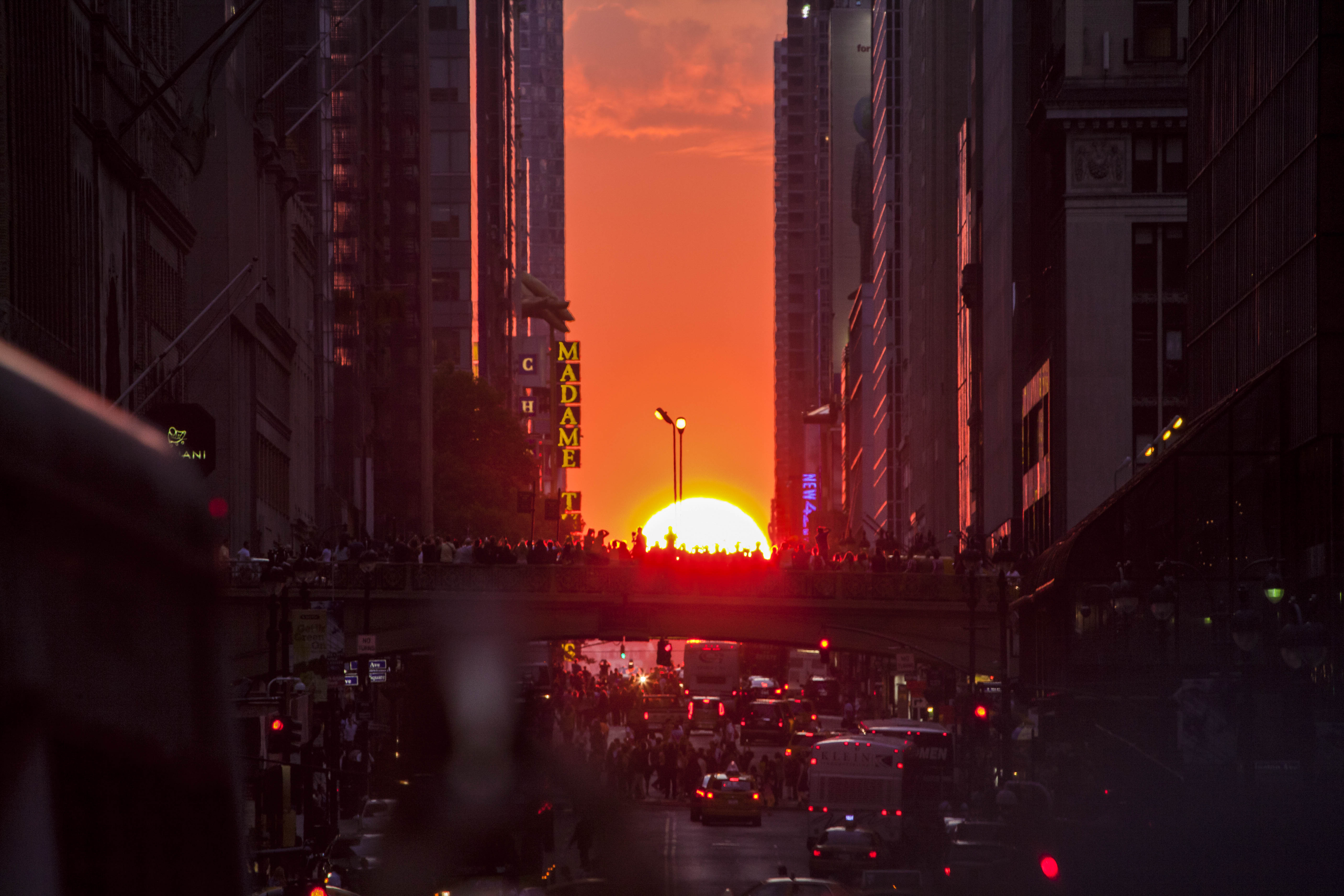 Manhattanhenge is a circumstance which occurs twice a year shutterstock_205045615 EDITORIAL ONLY JaysonPhotography-2