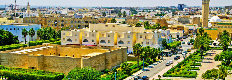 Overview of Monastir from the ribat, Monastir, Tunisia