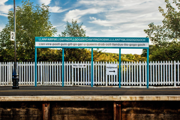 Railway platform sign for the longest place name in the world shutterstock_38417533-2