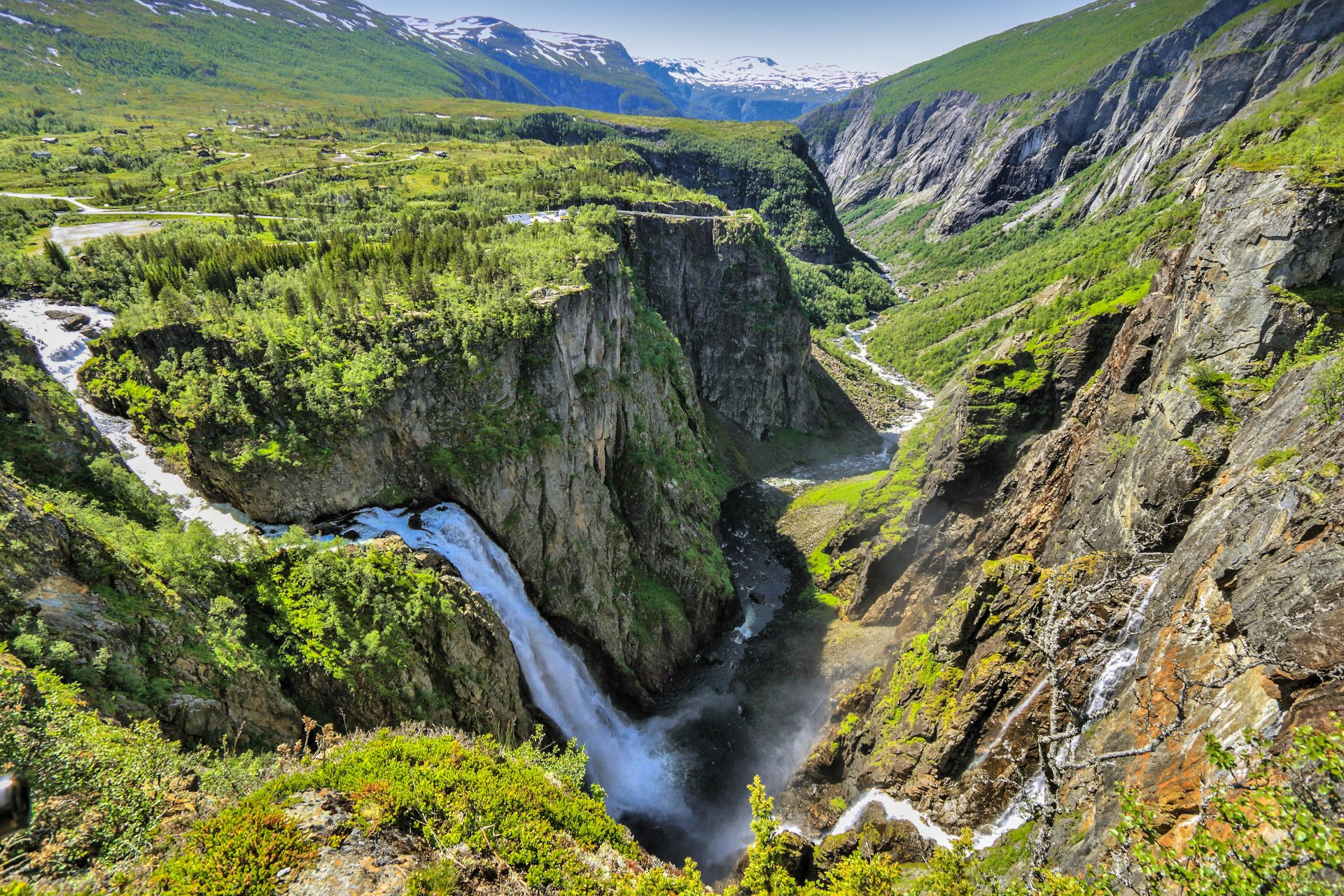 Voringfossen in Norwegen