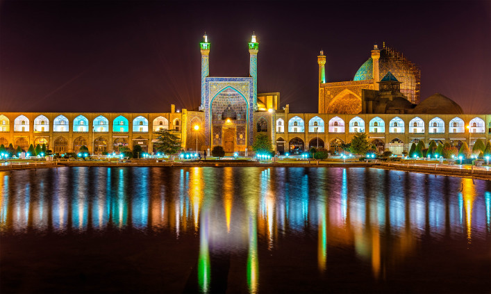 View of Shah (Imam) Mosque in Isfahan – Iran