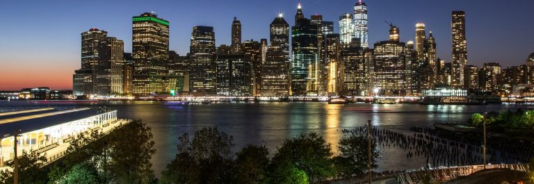 Downtown New York from Brooklyn Height Promenade