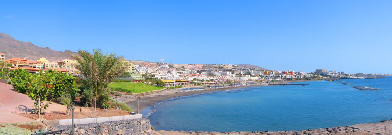 Panoramic view of Costa Adeje bay of Tenerife island (Canaries)_shutterstock_12976426
