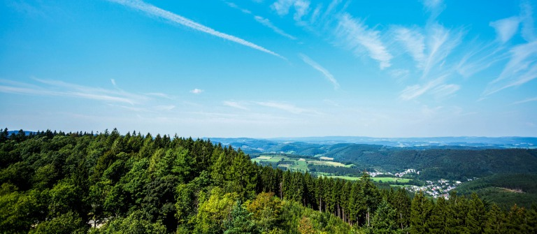 Woods and hills of Sauerland around Hohe Bracht iStock_000072797185_Large-2