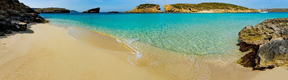 The Blue Lagoon on Comino Island, Malta Gozo shutterstock_319708925