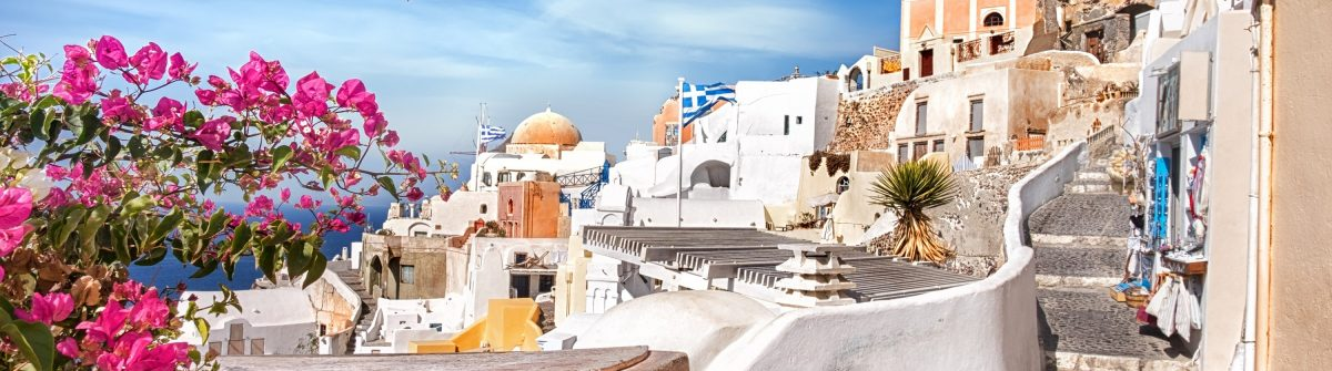 Oia village, Santorini island, Greece