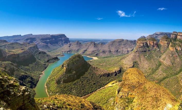 Der Blyde River Canyon in Südafrika