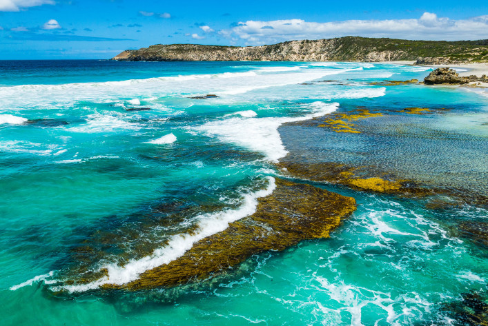 Pennington Bay on Kangaroo Island, South Australia