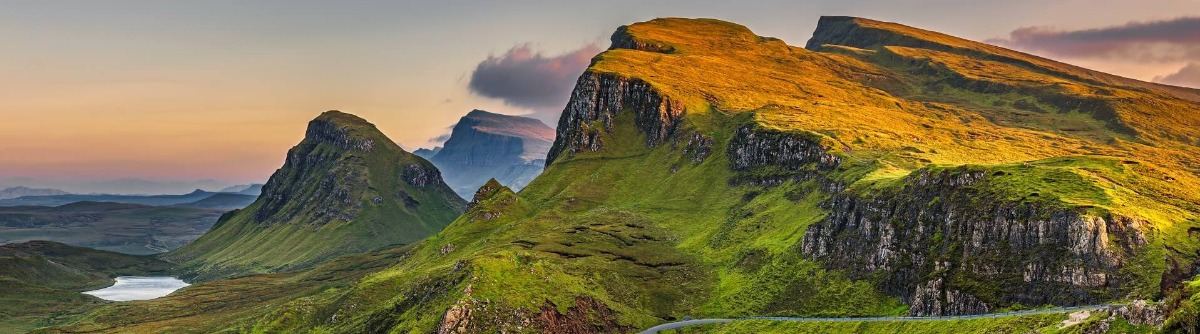 Panorama der Isle of Skye