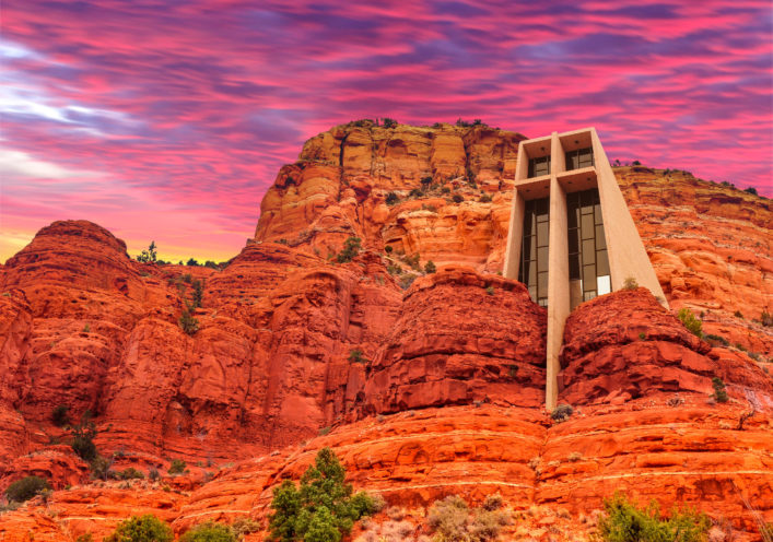 Kirche, Chapel of the Holy Cross Sedona