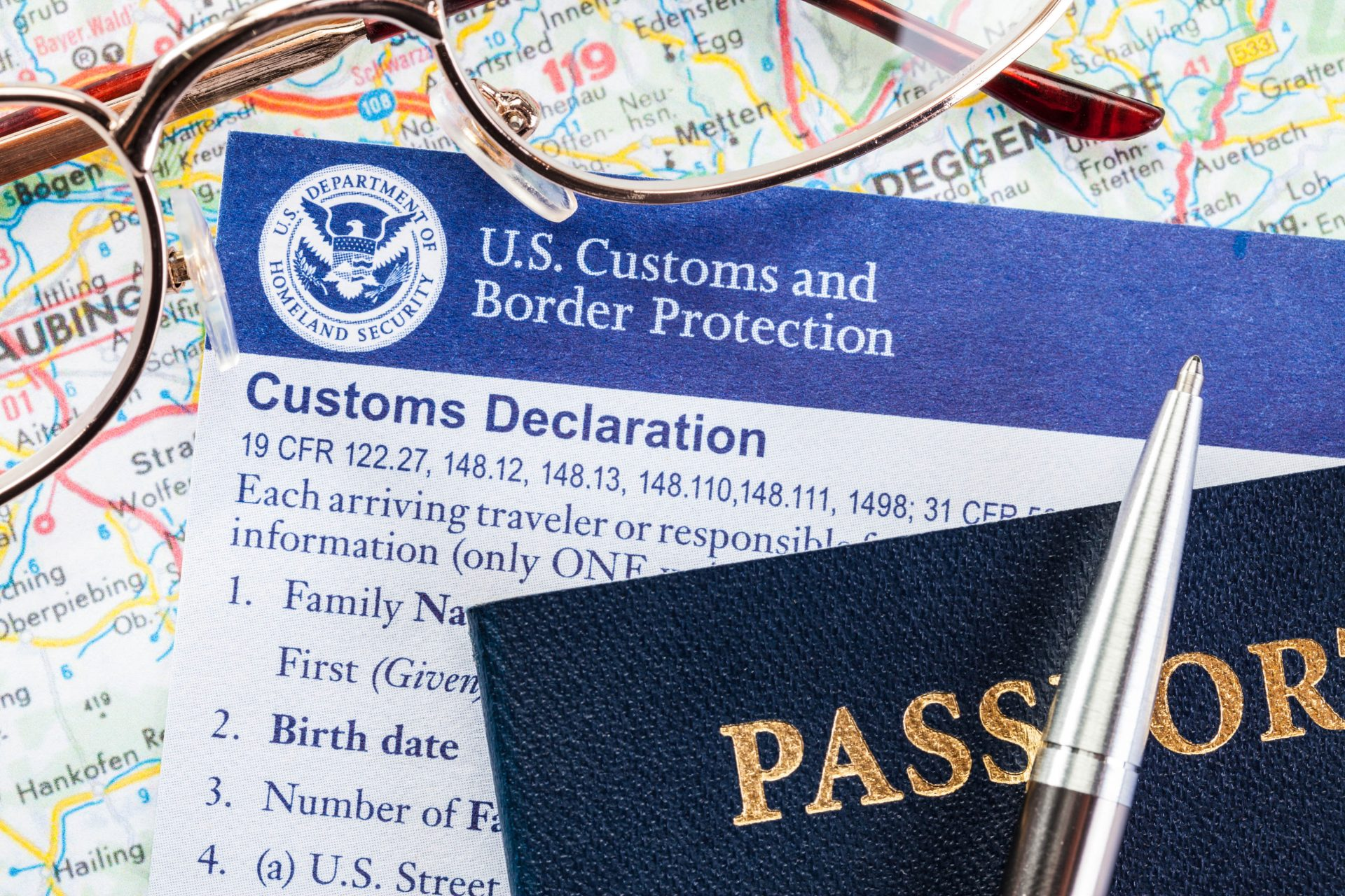 US Customs Declaration