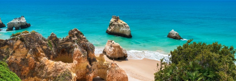 Praia tres irmaos – Beautiful coast of Algarve – Portugal