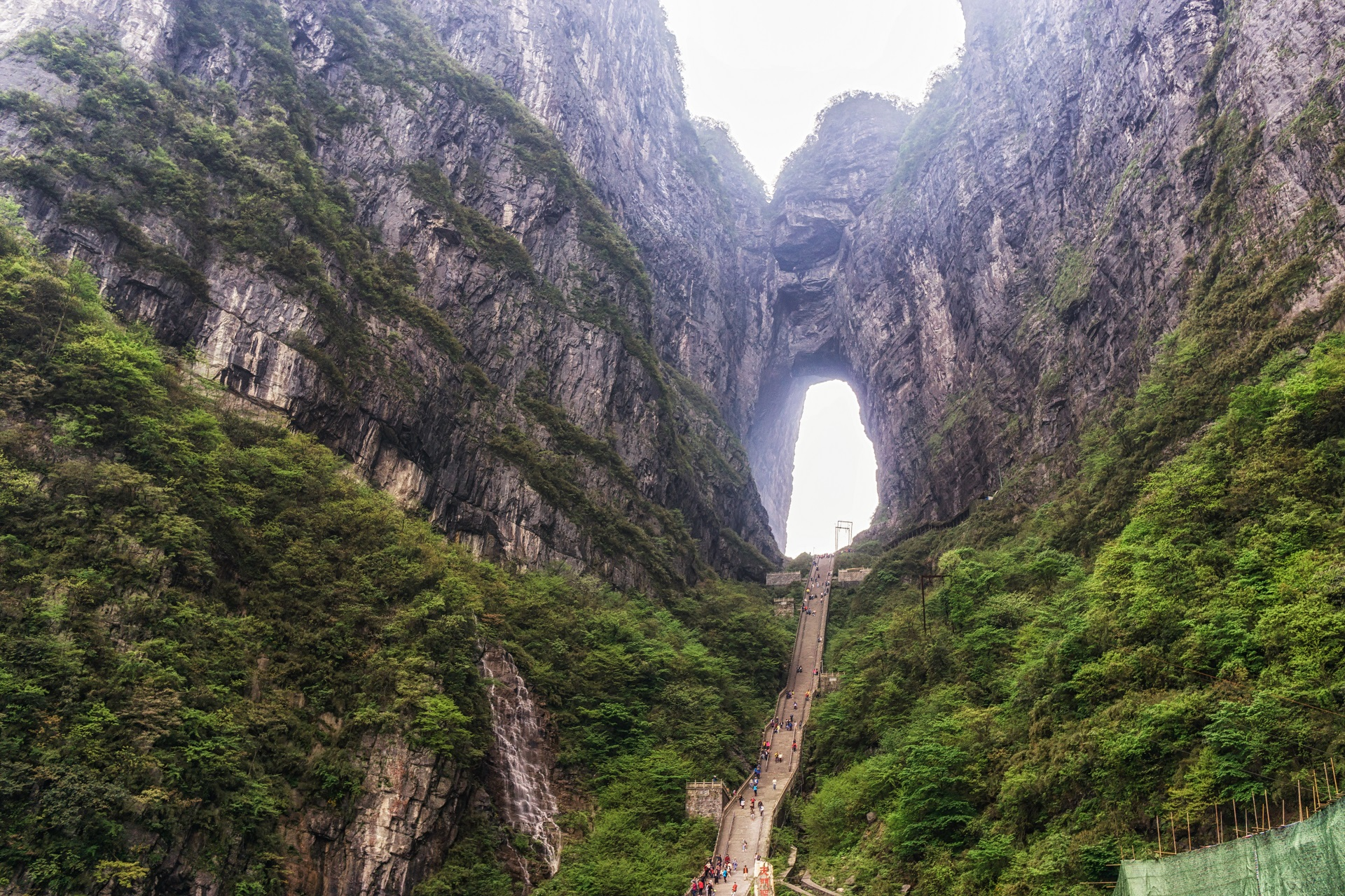das Gate to heaven in China