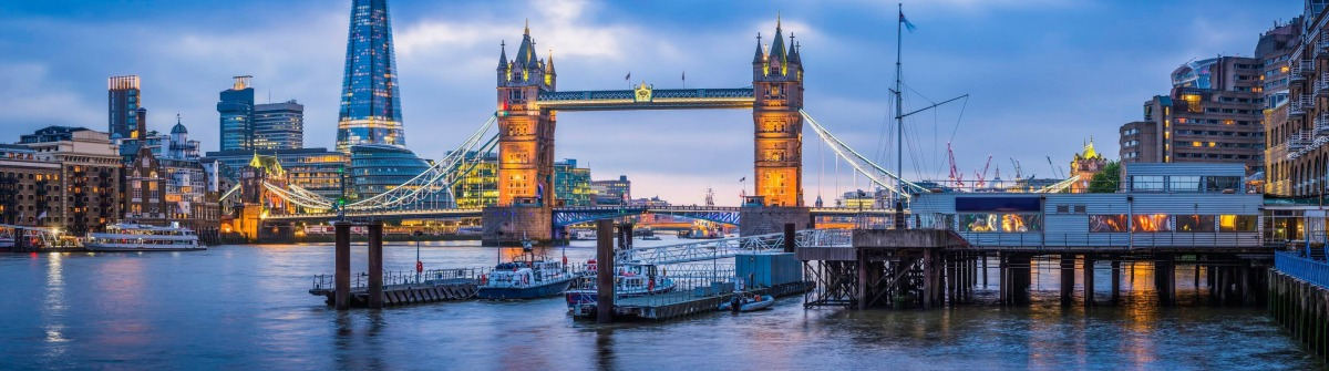 London Tower Bridge in UK