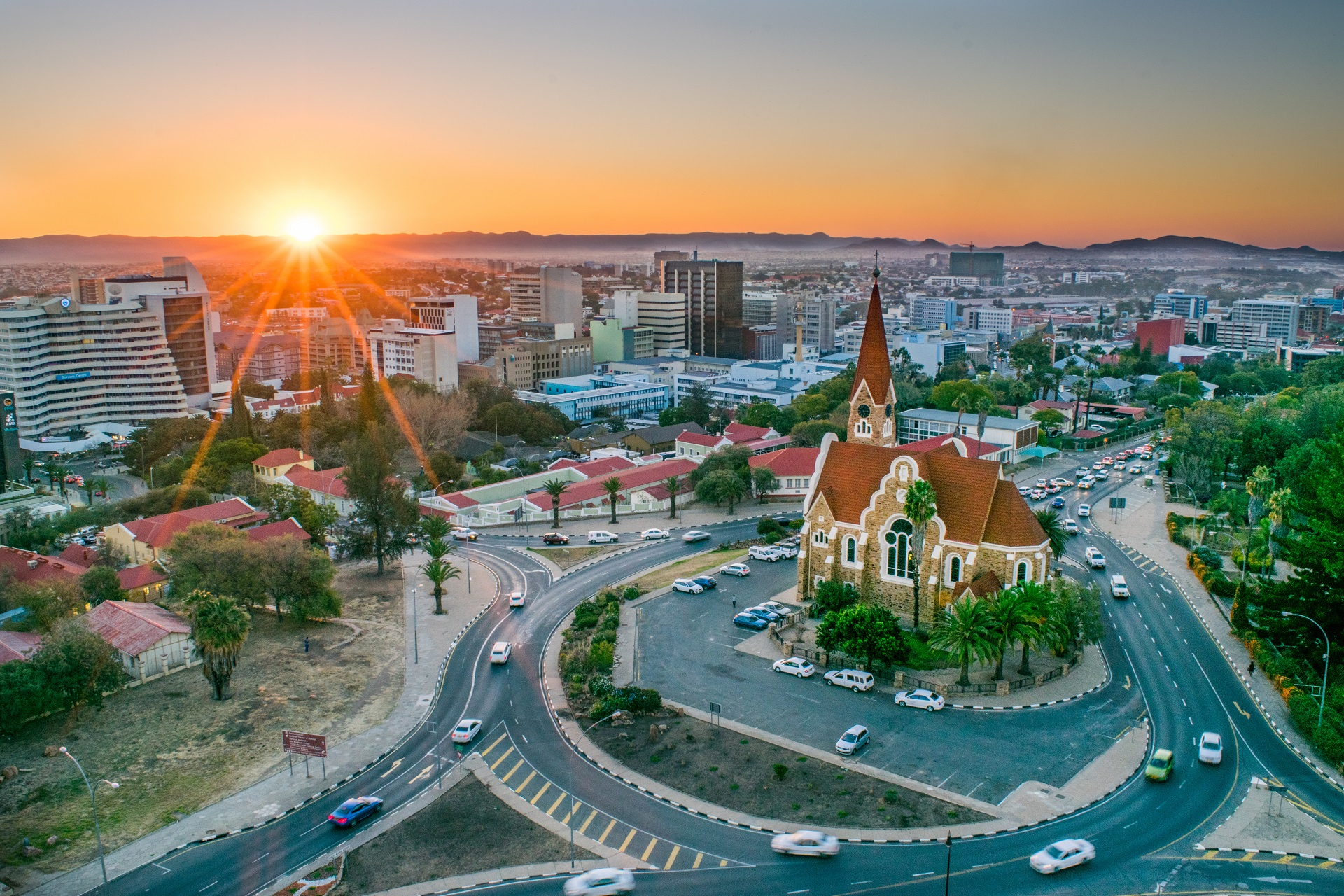 Windhoek in Namibia