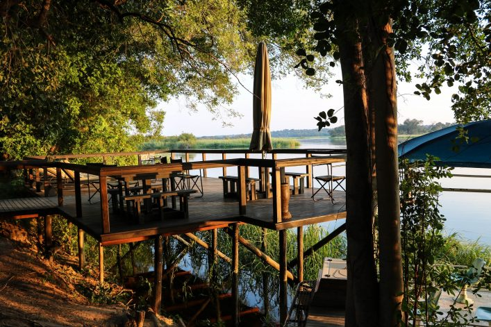 Holidays at the Okavango River, Caprivi strip of Namibia Africa
