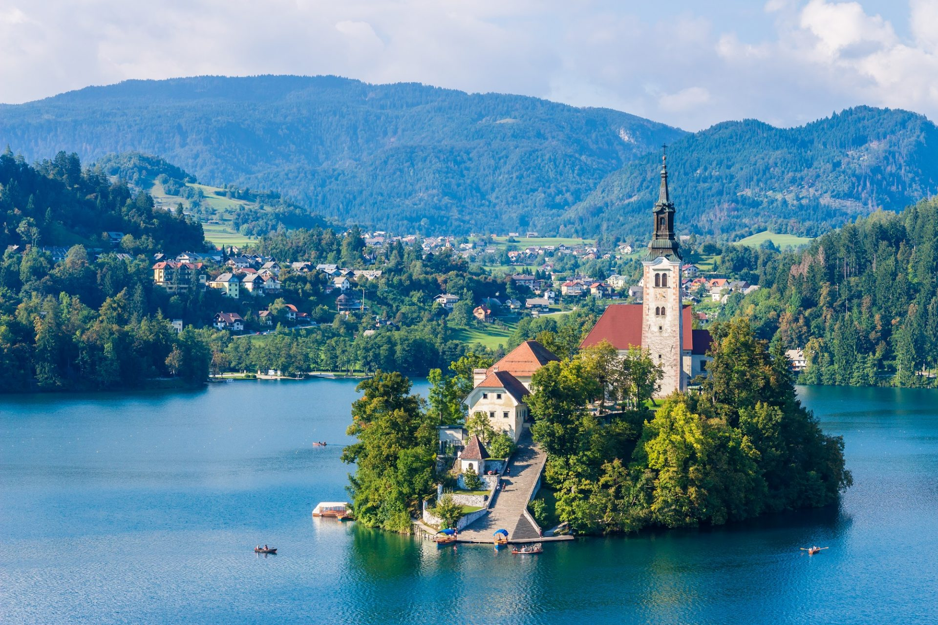 Bled Lake in Slowenien