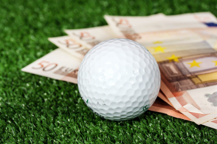 Big money golf bet