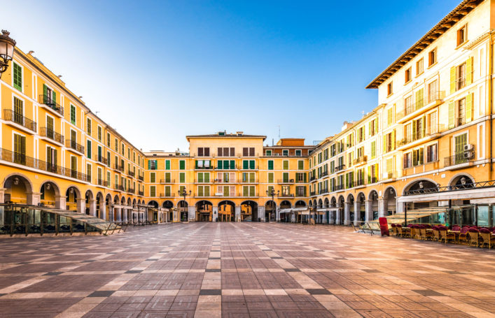 Plaza de Major, Palma de Mallorca