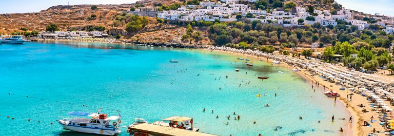 St.Paul's Bay, Rhodes Island, Greece