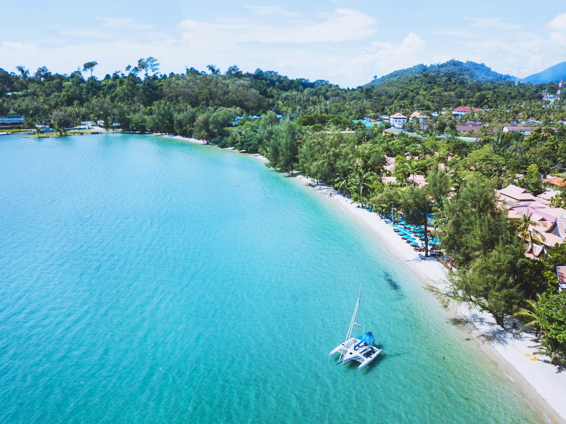 Insel Koh Chang in Thailand