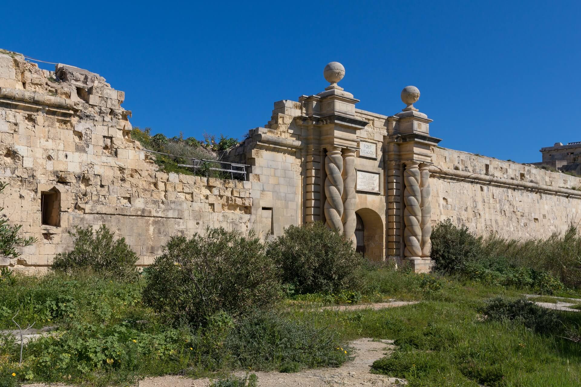 Fort Ricasoli - Ein Game of Thrones Drehort auf Malta