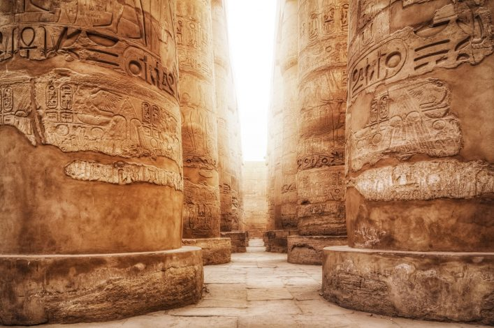 Great Hypostyle Hall / Precinct of Amun-Re ( Karnak Temple Complex )