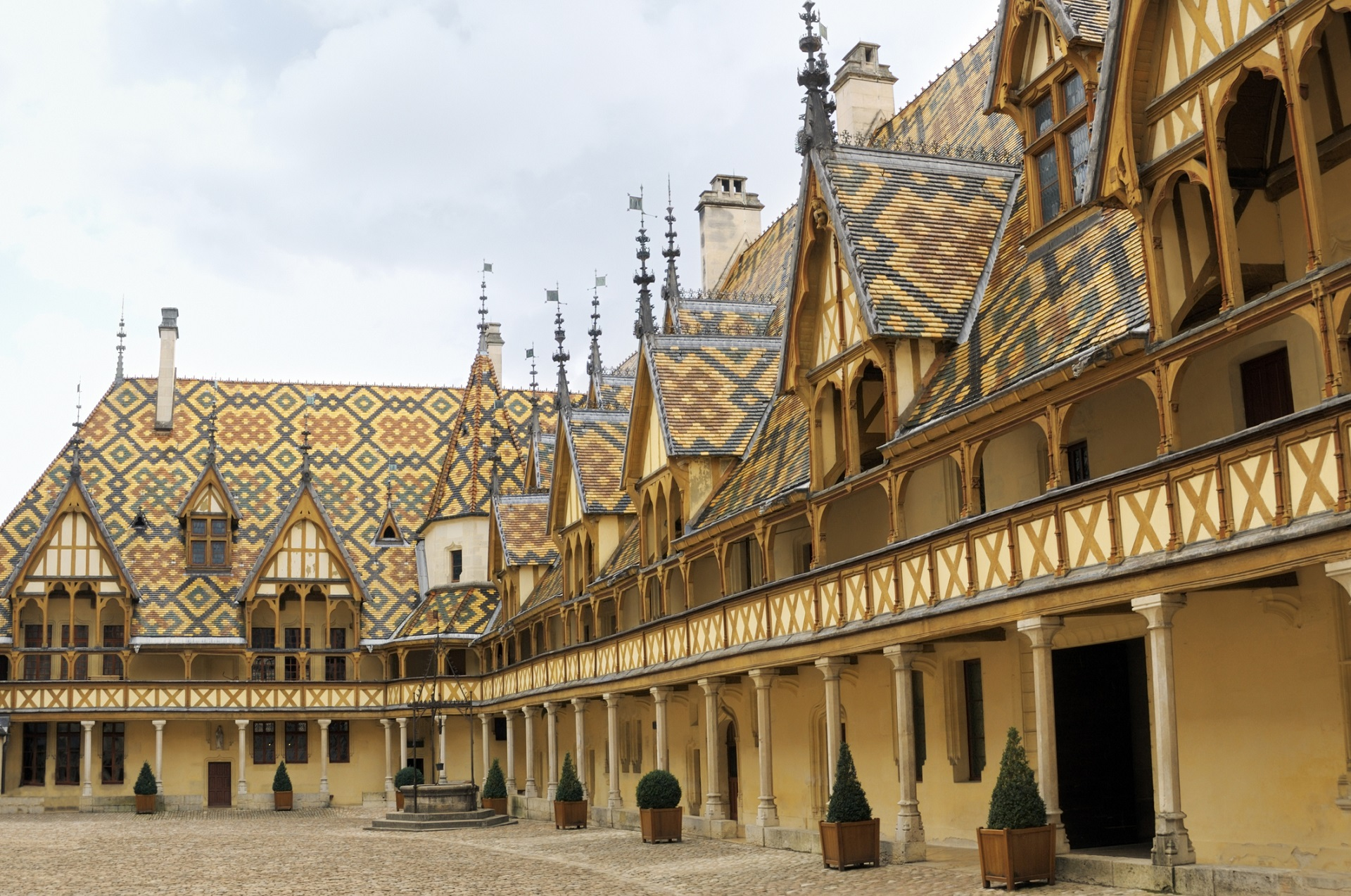 Hospices de Beaune in Burgund